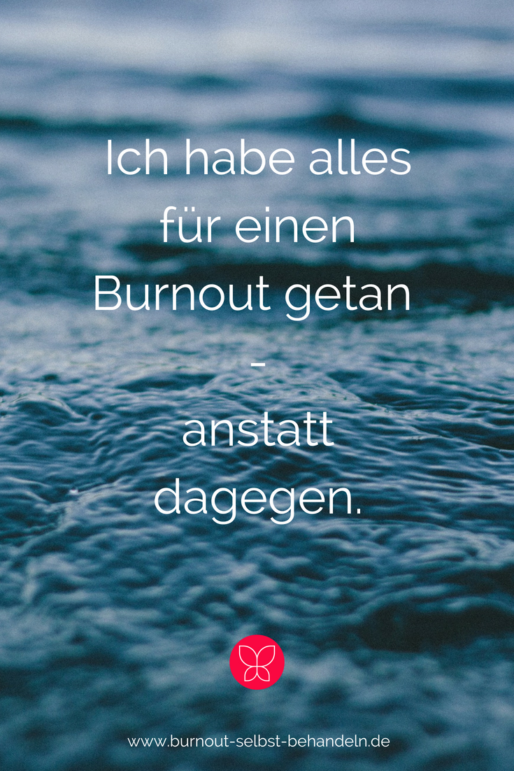 Mein Weg in den Burnout.